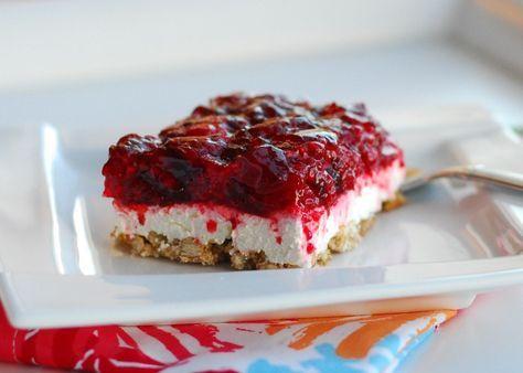 Greg, Keely, and The Moose: Favorite Recipe: Raspberry Pretzel Dessert Bars