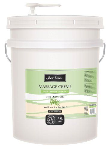 Bon Vital Therapeutic Touch Massage Creme 5 Gallon Pail ** To view further for this item, visit the image link.