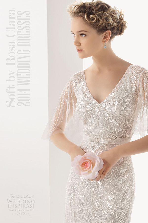 http://weddinginspirasi.com/2013/06/14/soft-by-rosa-clara-2014-wedding-dresses/ Soft by Rosa Clará 2014 Wedding Dresses #weddings #weddingdress #bridal #wedding