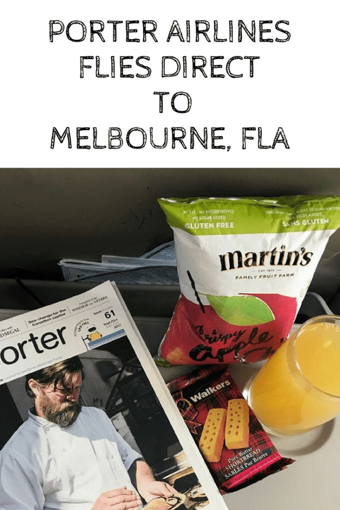 Porter Airlines Flies Direct to Melbourne, Florida