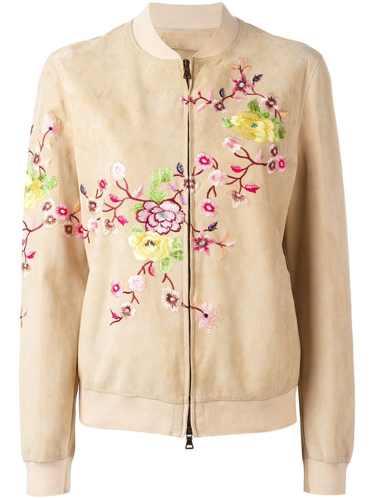 ¡Cómpralo ya!. Etro - Floral Embellished Bomber Jacket - Women - Cotton/Lamb Skin/Spandex/Elastane/Viscose - 42. Nude cotton blend and lambskin floral embellished bomber jacket from Etro. Size: 42. Color: Nude/neutrals. Gender: Female. Material: Cotton/Lamb Skin/Spandex/Elastane/Viscose. , chaquetabomber, bómber, bombers, bomberjacke, chamarrabomber, vestebomber, giubbottobombber, bomber. Chaqueta bomber  de mujer color beige de ETRO.