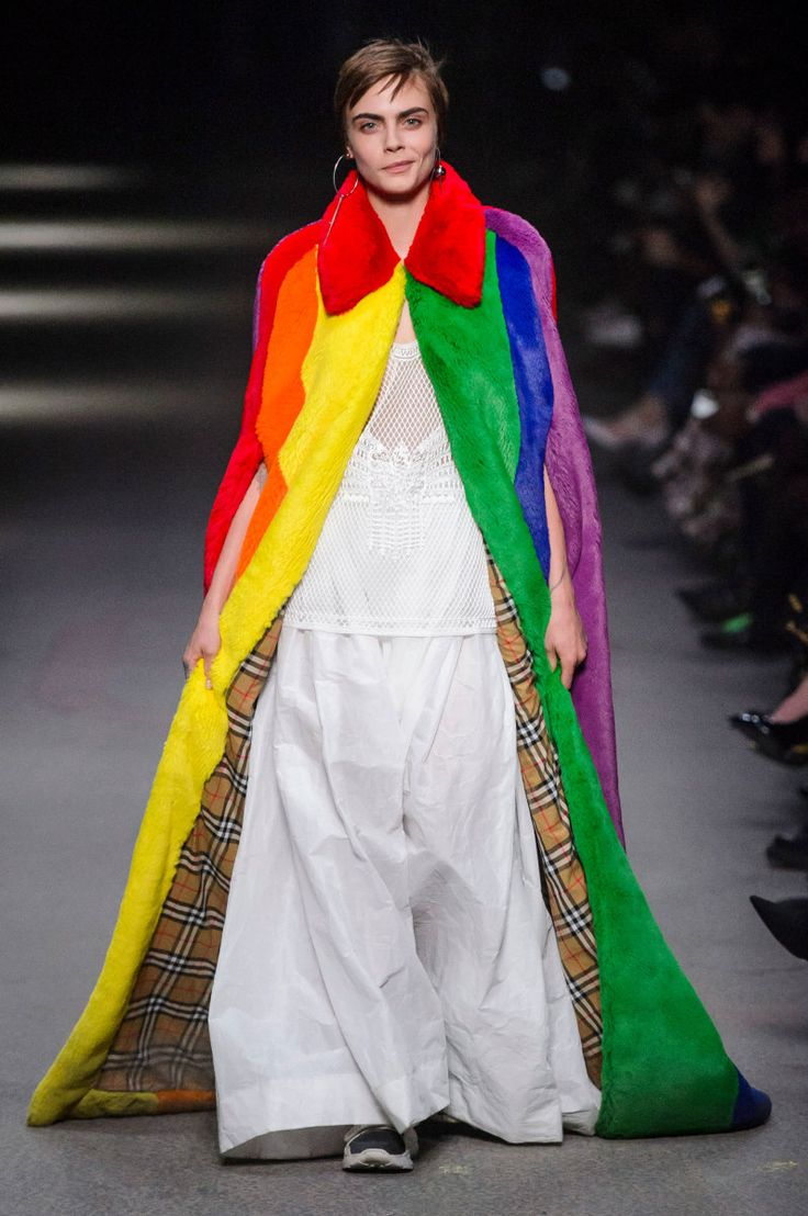 """'My final collection here at Burberry is dedicated to - and in support of - some of the best and brightest organisations supporting LGBTQ+ youth around the world."""" -Christopher Bailey, Burberry President and Chief Creative Officer"""