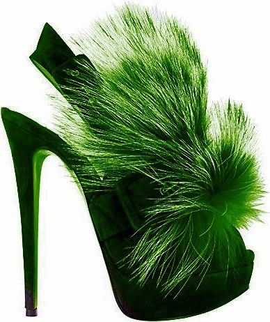 Green - 2016 women pumps thin high heeled shoes heels sexy 14cm red bottoms shoes. Christian Louboutins on twitter Avant Garde Designers- Fashion Trends Shoes - TrendSurvivor.com/2011/08/29