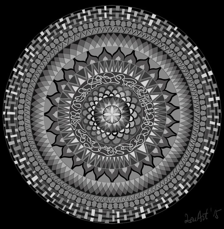 Mandala by Dark-Kiddo on DeviantArt