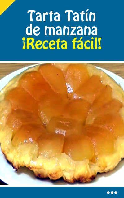#receta #tarta #tatín #manzana #fácil