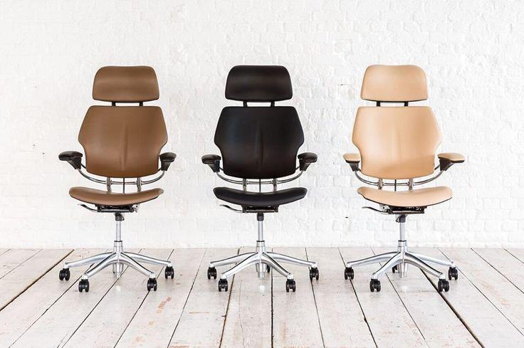 """La silla Freedom de Humanscale ha sido descrita por el New York Times como el """"estándar de oro de sillería de oficina"""""""