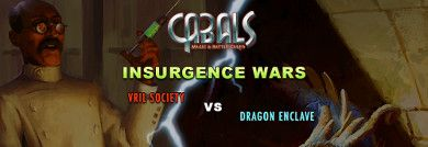 Insurgence Wars Latest News | Cabals: Magic & Battle Cards