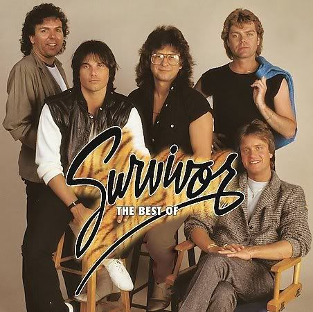 Survivor with Jimi Jamison VITAL SIGNS – 1984 (Scotti Brothers)  Vital-Signs I Can't Hold Back High on You First Night The Search Is Over Broken Promises Popular Girl Everlasting It's The Singer Not The Song I See You in Everyone