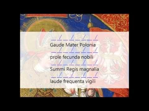Gaude Mater Polonia - YouTube