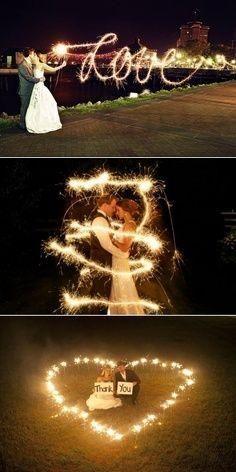 Wedding Ideas - Sparklers - Weddbook