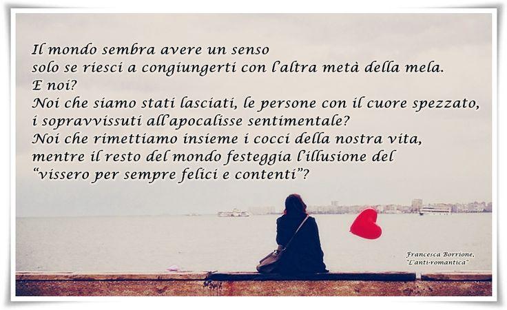 "Francesca Borrione, ""L'anti-romantica"""