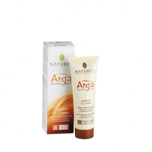 CC Cream Uniformante Viso Argà minerale