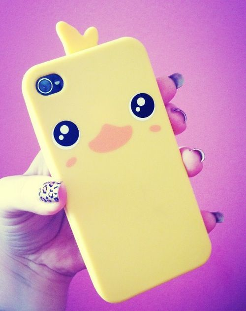 Ducky Momo phone case  (gotta watch Phineas and Ferb to get the ducky momo)