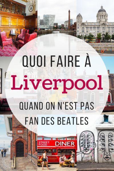 Pas fan des Beatles? Il y a des tonnes d'autres choses à faire à Liverpool en Angleterre. Visitez un pub hanté, faite du Café hoping ou promenez-vous au Albert Dock. Il y a toujours des choses à voir en voyage à Liverpool. #Liverpool #UK #Angleterre #voyage #OMGreatBritain #GreatBritain