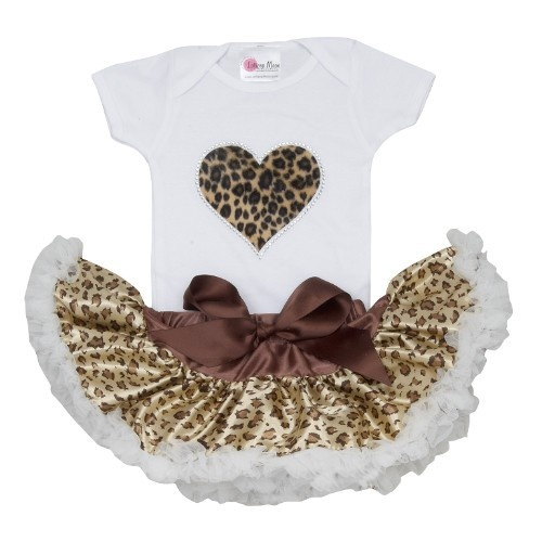 Cheetah Heart Tutu Set Leopard Everything