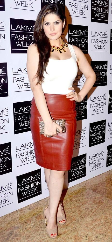 Zareen (Zarine) Khan at the Lakme Fashion Week 2013 by olloo