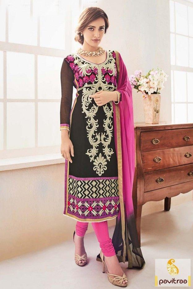 #Neha #Sharma Special Black Color #Bollywood Salwar Kameez http://www.pavitraa.in/store/partywear-salwar-suit/?utm_source=pk&utm_medium=pinterestpost&utm_campaign=22Feb #salwarsuits, #salwarkameez, #newyeardresses, #designersalwarsuits, #bollywoodsalwarsuits, #anarkalisalwarsuits, #straightsalwarsuits, #embroiderysalwarsuits, #wholesalecatalog, #churidarsuit, #palazzo, #festivaloffer Call/ WhatsApp : +91-7698234040  Email _Id : info@pavitraa.in