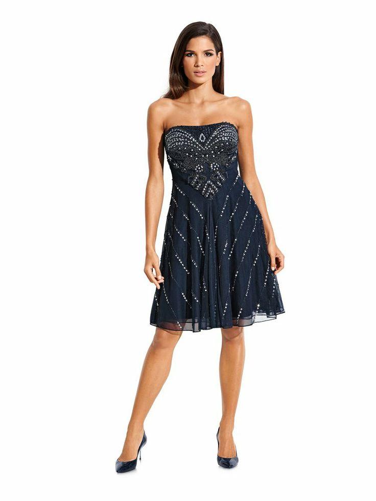carry allen corsagenkleid nachtblau abendkleider im mode shop auf. Black Bedroom Furniture Sets. Home Design Ideas