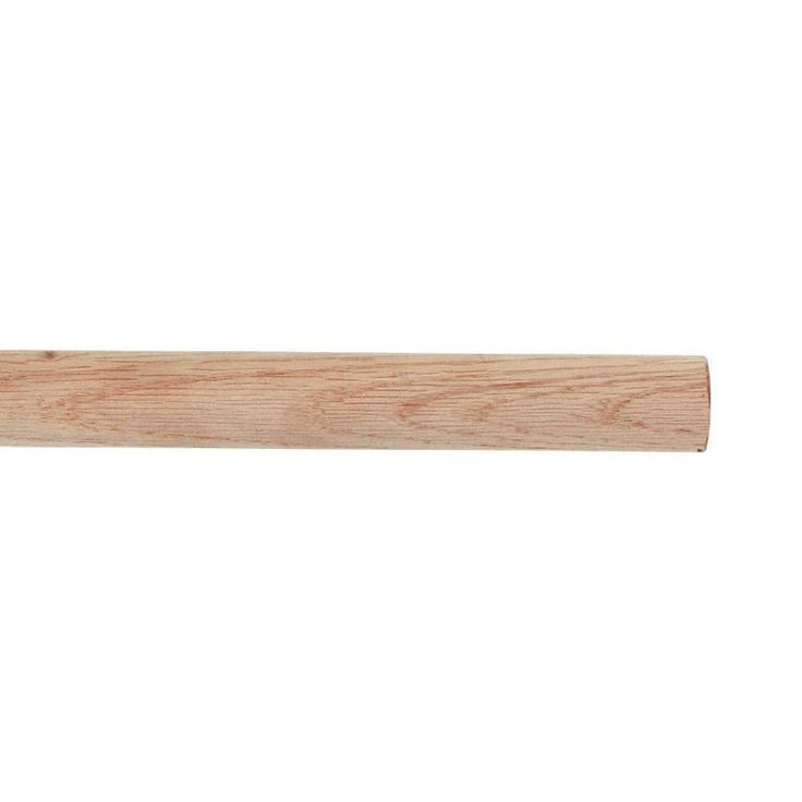 Blue Hawk 96 In L X 1 3125 In H X 1 3125 In W Wood Closet Rod At Lowes Com Wood Closets Closet Rod Wood