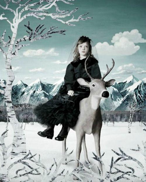 """Girl in Mourning"" | Helena Blomqvist"