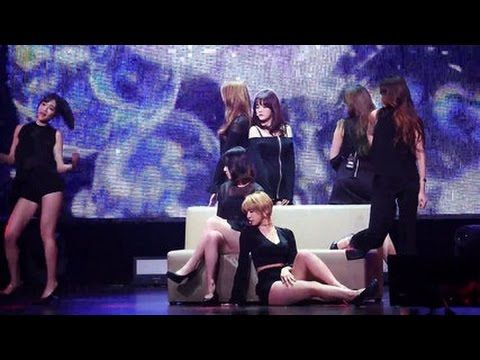 AOA's First 'Good Luck' and '10 Seconds' Live Performances!