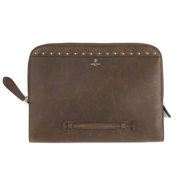 Royal Trunk and Co Soft Brown Laptop Case