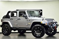 jeep wrangler lifted   2013 Jeep Wrangler Unlimited Sahara 4X4 Lifted OffRoad Pkg LOW MILES