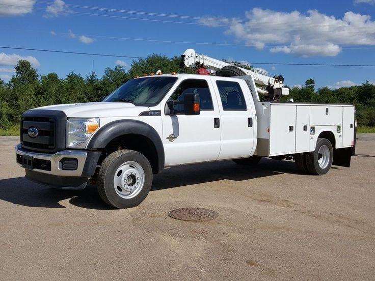 2013 Ford F550 4X4 truck