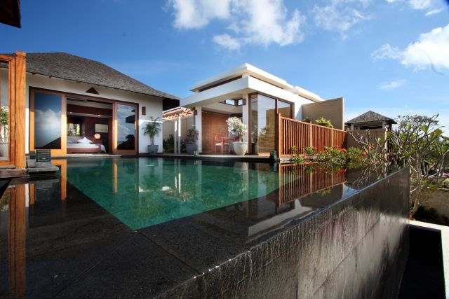 Modern bali style houses