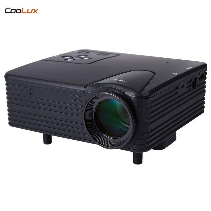 Oferta caliente H80 Proyector Portable Del LED 640x480 Píxeles Soporta Full HD 1080 P LED Proyector de Vídeo de Cine En Casa .... Ver enlace
