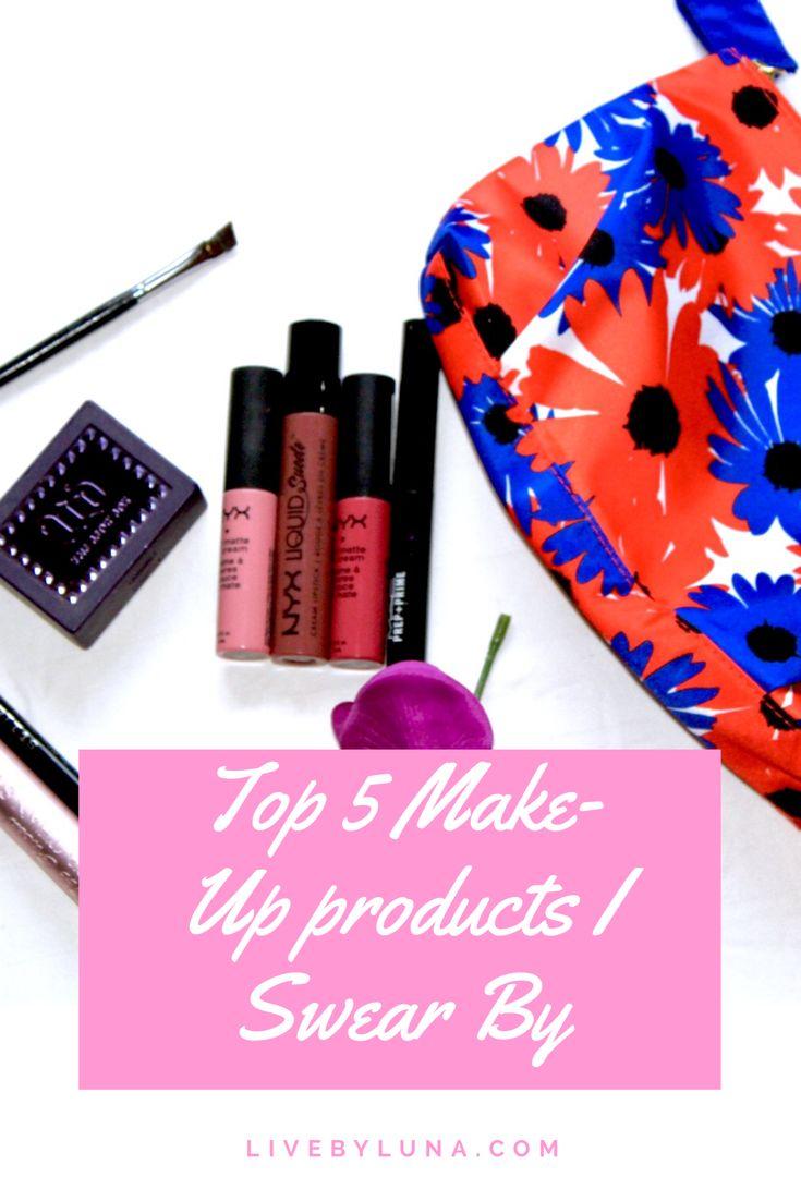 Make-Up blog post on eyeliner, lipstick, mascara, lip primer & eye brows!  #makeup #lifestyle #beauty #nyx #lipstick #mascara #toofaced #brow #urbandecay #eyeliner #cateye #stila #sephora #mac #primer