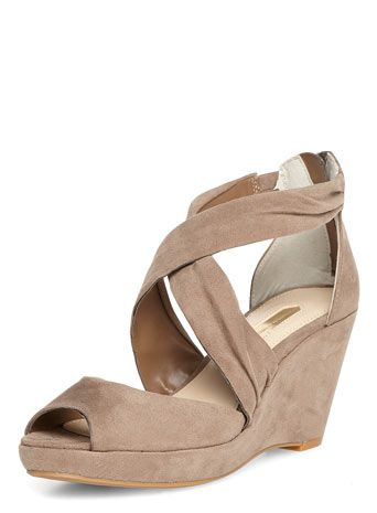 Mink mid wedges - Sandals - Shoes
