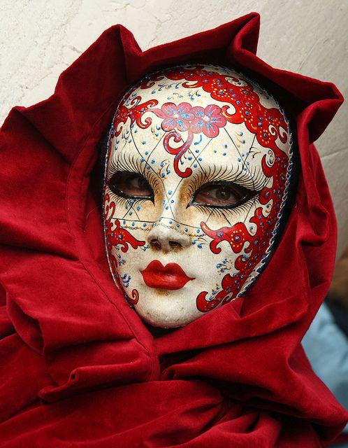Mascaras del carnaval en Venecia. Mask Carnevale in Venice. Foto                                                                                                                                                                                 Más