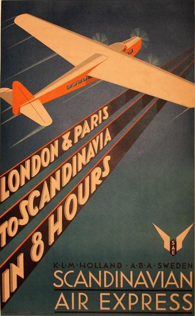 Scandinavian Air Express1931, by Anders Beckman