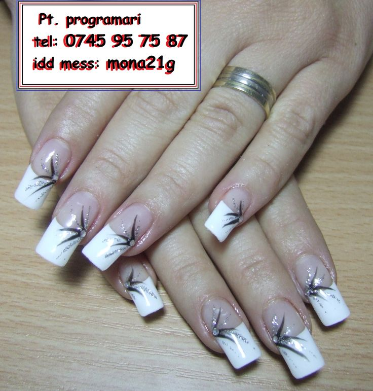 Aplic unghii false cu gel PE TIPS sau ACRIL(prelungirea este din acril pe sablon) , oja permanenta - in CONSTANTA  Modelele sunt incluse in pret: culoare pe toata unghia sau french , paiete, strasuri, tatuaje si diverse aplicatii, pictura manuala,etc.    Pentru programari tel: 0745 95 75 87 sau idd de mess: mona21g