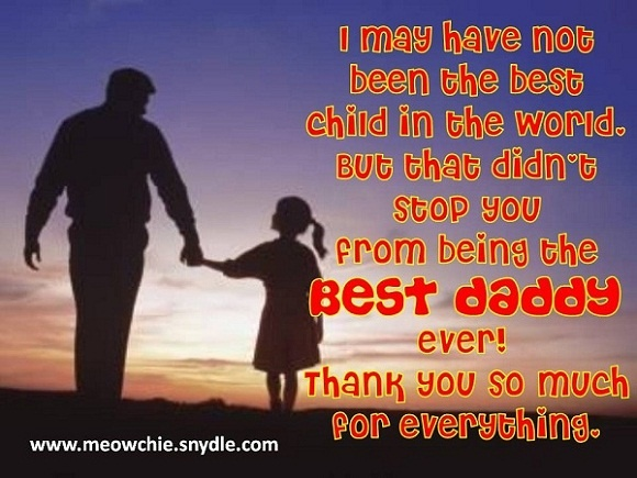 father's day message of love