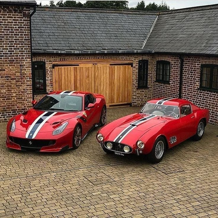 Older and younger brothers – Ferrari F12 TDF x 250TDF Credit : D&K Engineering #… – FERRARI
