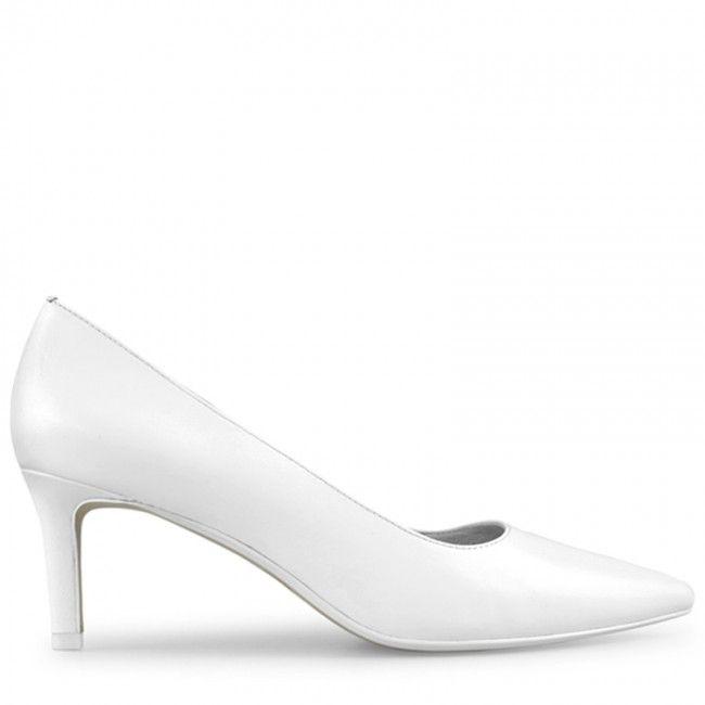 Wittner Delores Pump White Heels