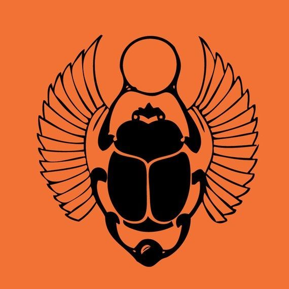 scarab beetle egyptian symbol - Google Search