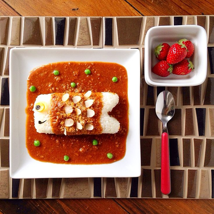 ザッキー's dish photo こどもの日はカレーで決まり こいのぼりデコカレー | http://snapdish.co #SnapDish #レシピ #こどもの日グランプリ2015 #カレーライス #お昼ご飯 #晩ご飯 #こどもの日