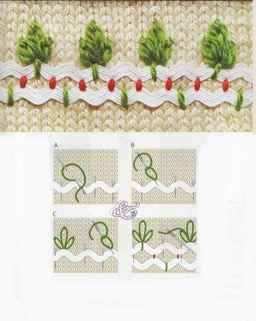 ric rac embroidery