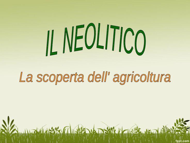 La scoperta dell'agricoltura by maestra maria pia