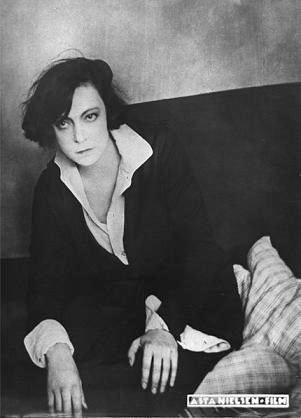 Danish silent film actress Asta Nielsen (1881-1972)