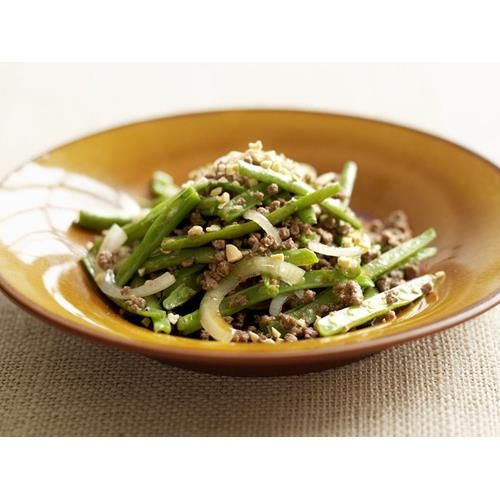 Chinese minced beef and spicy green beans recipe - By Australian Women's Weekly