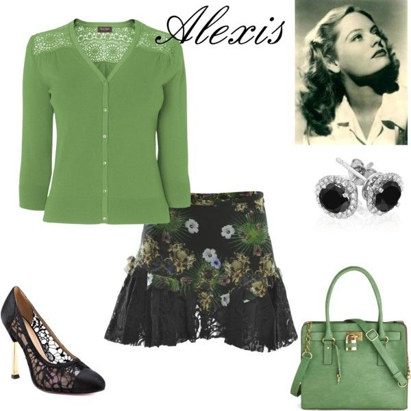 Alexis Smith by connie-collier-cain on Polyvore