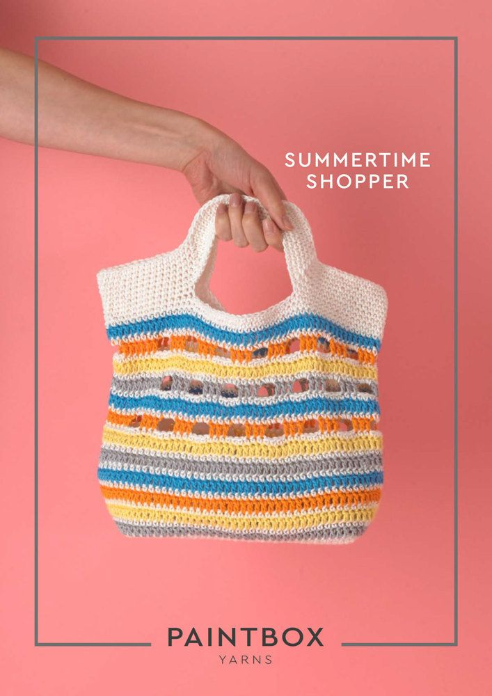 Summertime Shopper in Paintbox Yarns Cotton DK - Downloadable PDF. Discover more patterns by Paintbox Yarns at LoveKnitting. The world's largest range of knitting supplies - we stock patterns, yarn, needles and books from all of your favourite brands.