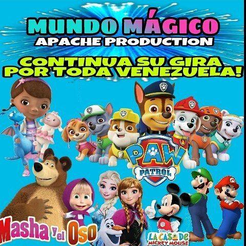 ��Celebramos el mes de los niños�� @MundoMagicoApache �� continúa de gira por nuestro #HERMOSO PAÍS�� #VENEZUELA  _______ #mundomagicoapache #muñecones #muñecotes #Táchira #Mérida #SanCRISTÓBAL #Caracas #Diadelniñi #Mesdelniño #mesdelosniños #mashayeloso #PawPatrol #lapatrullacanina #patrullacaniana #Mariobross #frozen #elsa #doctorajuguetes http://misstagram.com/ipost/1564198190130181600/?code=BW1JfdpBLXg