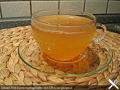 Zitronen - Thymian - Fencheltee mit Honig