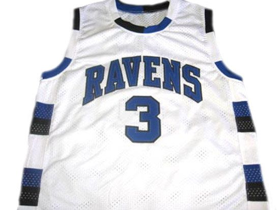 Lucas SCOTT #3 One Tree Hill Ravens Movie Jersey White Any Size XXS to 5XL