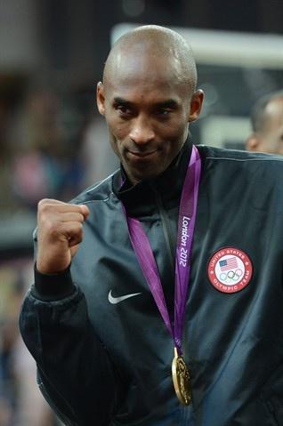 Kobe Bryant  ... Team USA Gold Medal Ceremony